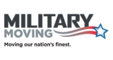 Military moving logo