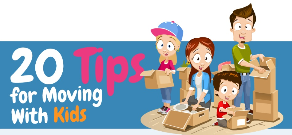 20 Tips for Moving With Kids [Infographic]
