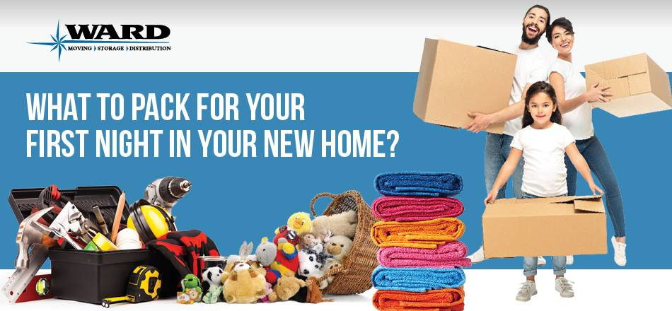 What To Pack For Your First Night Of a Move? [Infographic]